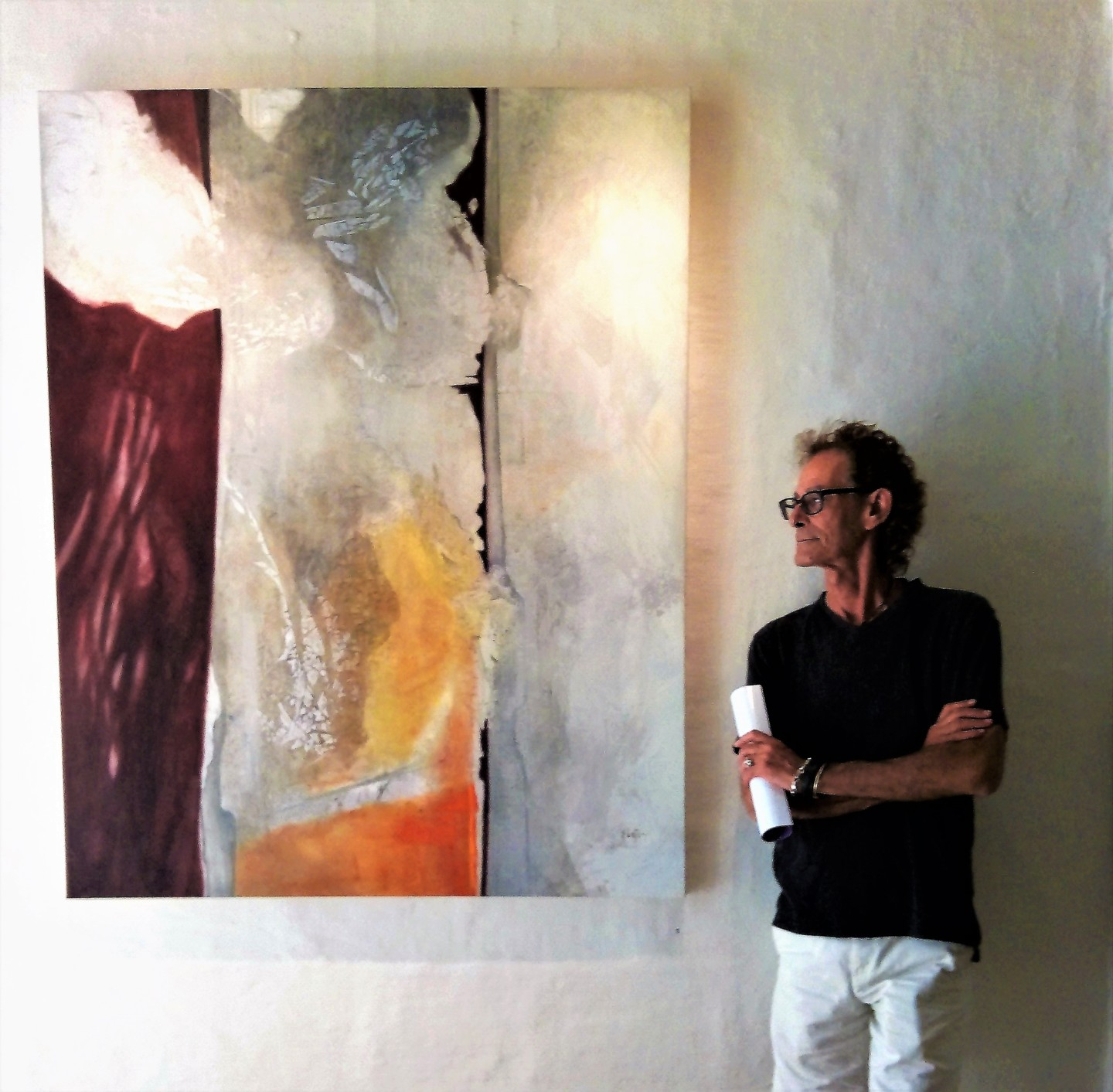 Damian Ebejer - Next to Abraxas lingers at the Divide