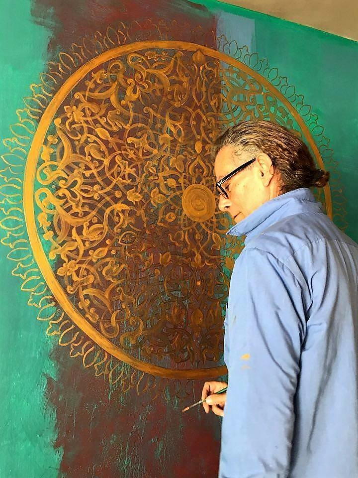 Damian Ebejer - Mural painting.